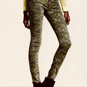 Women's Skinny Camo Pants